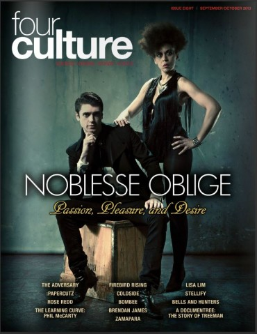 Fourculture Issue 8 featuring Noblesse Oblige