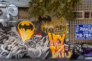 See One beside his mural which took four days to complete. Photograph by Ivan Koukolin