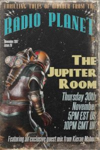 The Jupiter Room Transmissions November 2017: Kieran Mahon