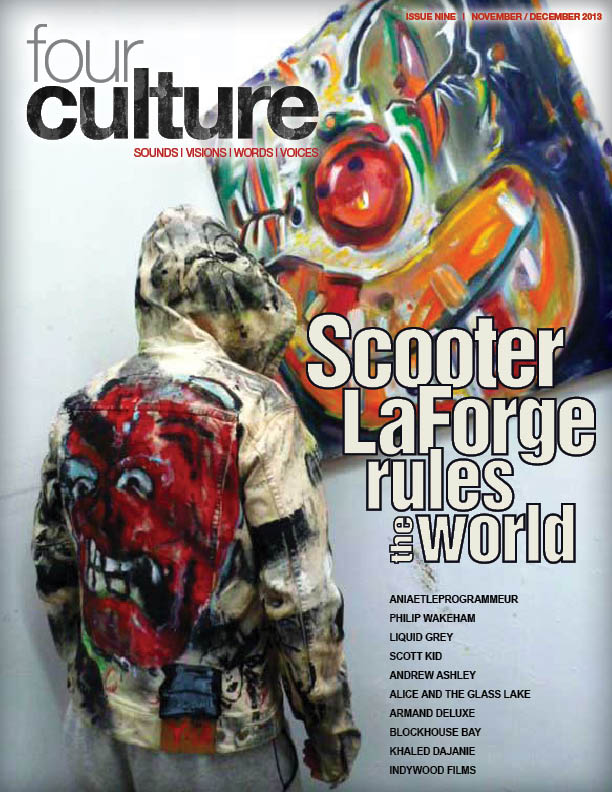 FOURCULTURE 9 Ft. Scooter Laforge, Liquid Grey, Scott Kid, Armand Deluxe